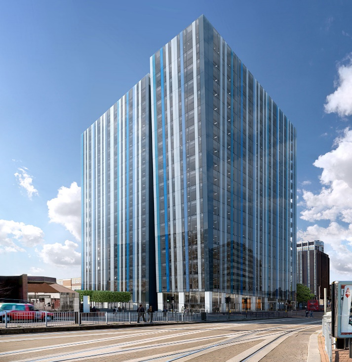 A 258,000ft² New Build Office Development In Central Croydon